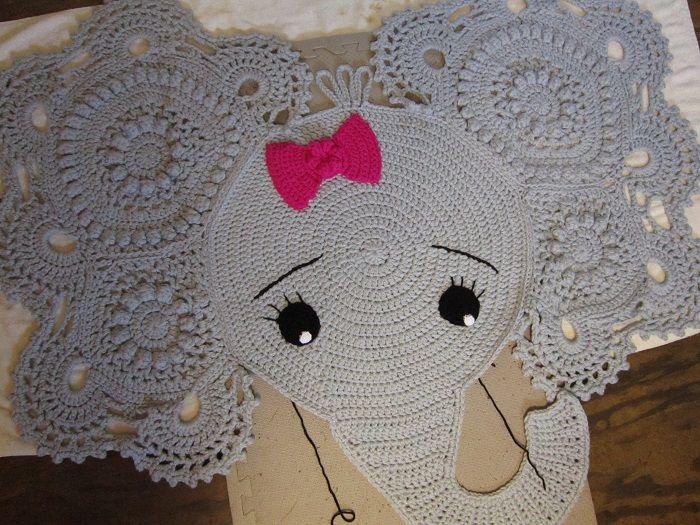 Josephina Elephant Rug By Ira Rott Designs Crochet