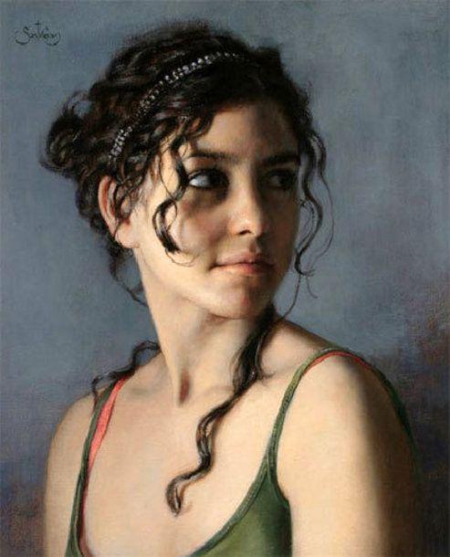 Artist Cesar Santos (1982, Cuban painter)