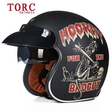 61.75$  Buy now - http://alibgs.shopchina.info/go.php?t=32805852356 - TORC helmet Motorcycle Motorcross helmet/ Motorbike Jet Vintage helmet/Open face retro 3/4 half helmet/T57 ,ECE   #buyonlinewebsite