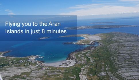 Flying you to the Aran Islands in just 8 minutes