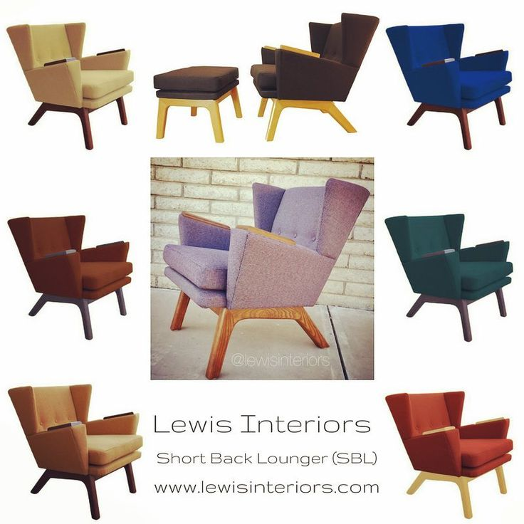 Check out our Midcentury Modern inspired Short Back Lounger (SBL)! This beauty is completely handcrafted in the USA by owners Ted & John Lewis, master upholsterers and furniture builders.  Choose your fabric & wood tone.  It's that easy!  Leave the fluffy couches and cookie-cutter chairs to the rookies!  www.lewisinteriors.com #lewisinteriors #lewisinteriorstheclassiccollection #midmod #midcenturymodern #midcenturychairs #midcenturymodernfurniture #midcenturymodernchair #midcenturyinspired…