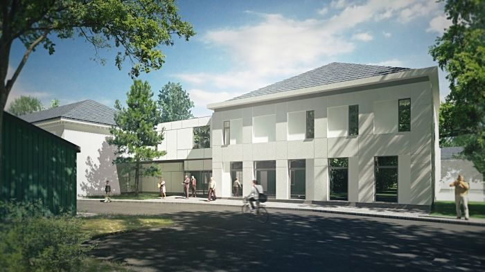 Hospital in Rawa Mazowiecka, Poland - concept design by Archimed Architecture, rendering