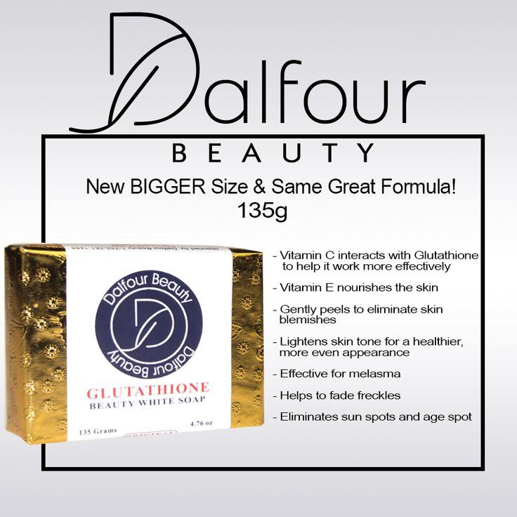 Dalfour Beauty Gold Foil Glutathione Whitening Soap