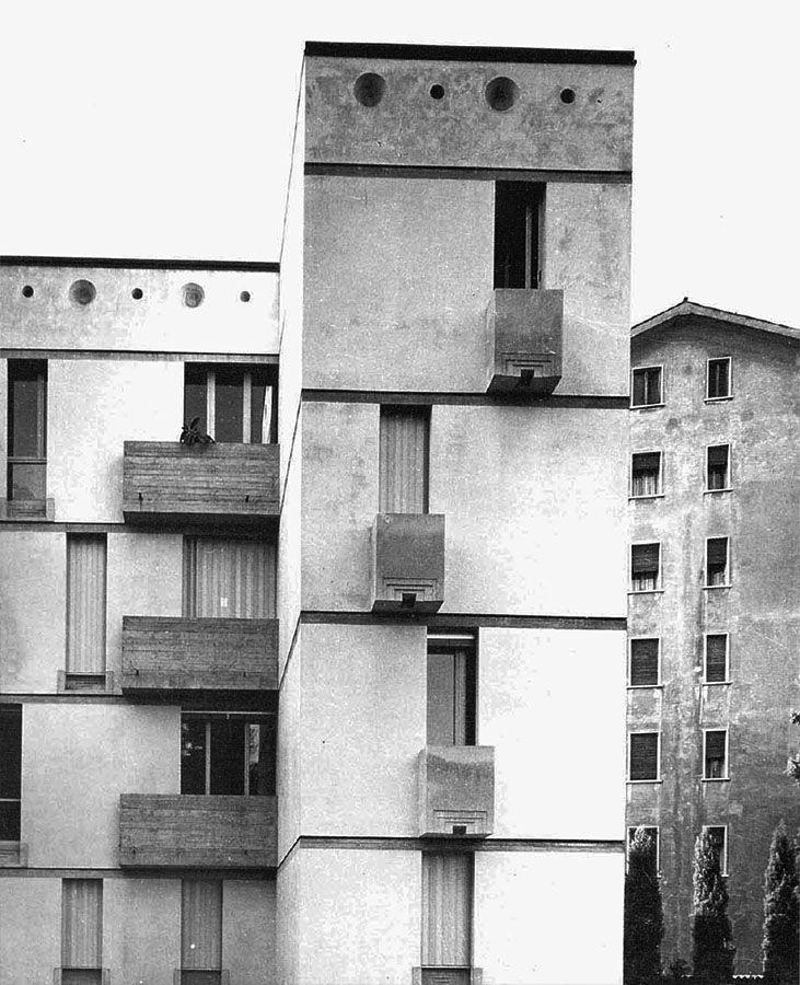 Borgo House. 1974-9. Vicenza, Italy. Carlo Scarpa