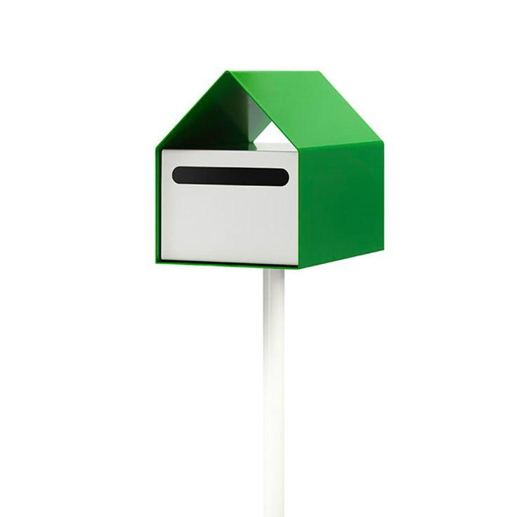 top3 by design - arko design - arko letterbox green + white