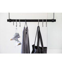 LindDNA - Swing sort læder/træ