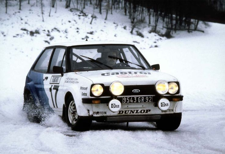 Ford Fiesta XR2 rally car  Rally Cars  Pinterest  Rally car and