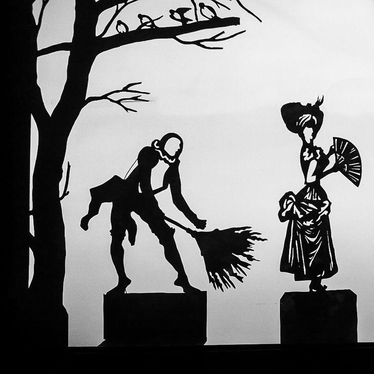 3 coppia del Gioco delle Coppie per San Valentino al Museo del PRECINEMA: Pierrot e la sua dama!