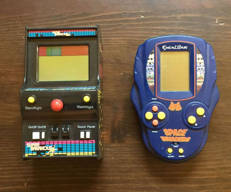 Space Invaders Electronic Game Excalibur & SUPER BREAKOUT MGA RETRO ARCADE STYLE