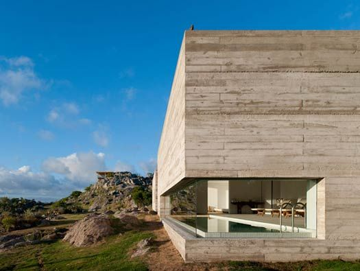 cool poolEstes Tip, Swimming Pools, Fasano Las, Modern Architecture, Stones, Hotels Fasano, Modern House, Architecture Digest, Spa