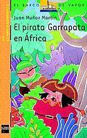 Segundo libro de las tertulias, del Pirata Garrapata (amplia colección), que narra la aventura de su tripulación en una expedición en África para rescatar a Floripondia