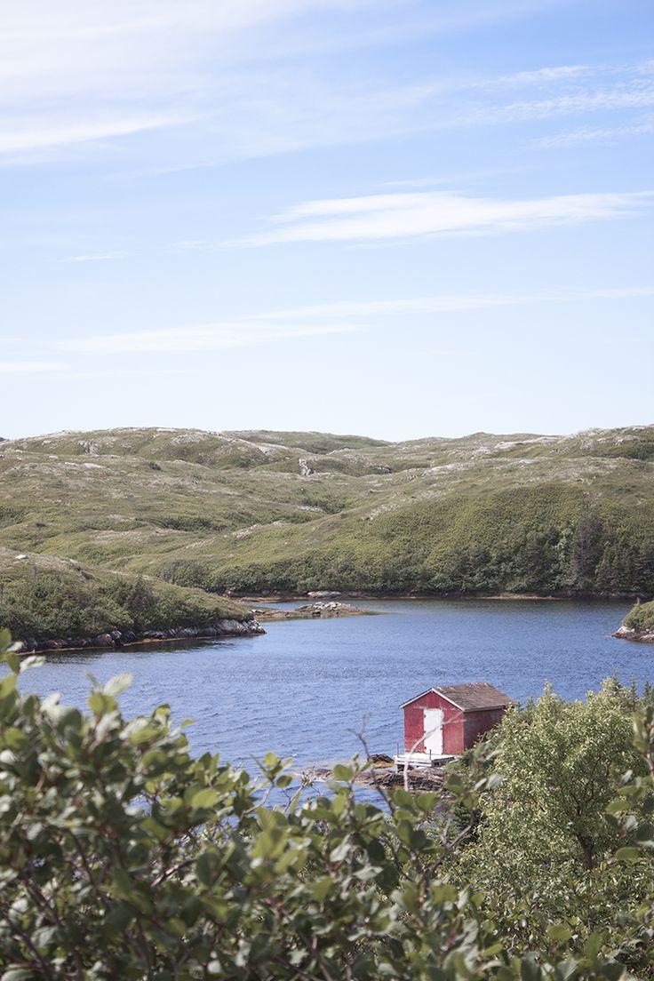 Une petite cabane du bout du monde à Terre Neuve au Canada ! #canada #terreneuve #newfoundland #cabin
