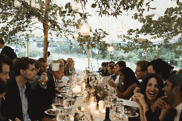 This is what I want my reception to looks like...vibrant, happy and full of people I love