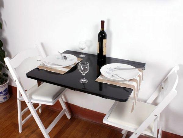 Прямоугольный складной стол для маленькой кухни