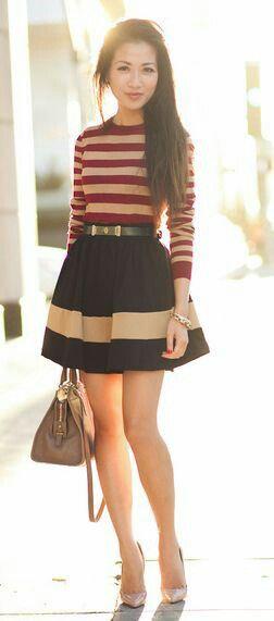 Short skirt - falda corta