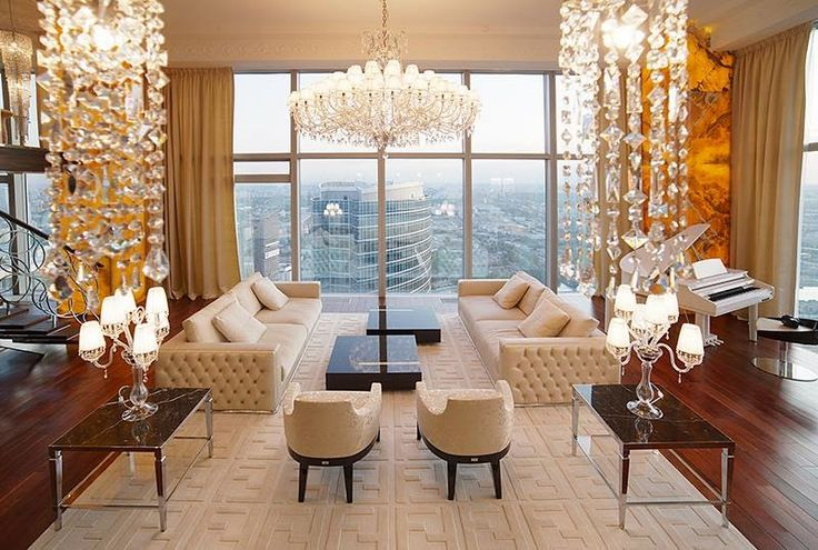 Penthouse Apartment In Moscow Russia Million Dollar