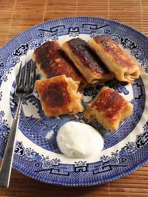 Grandma Rose's Idaho® potato blintzes ~