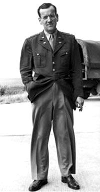 Glenn Miller - It is believed that he was killed as a returning Allied bombing group dumped their remaining load over the Channel and a bomb hit Miller's plane flying below . . .