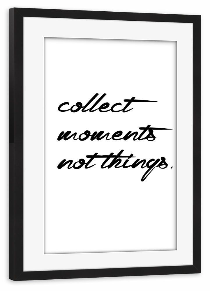 Collect moments Gerahmt