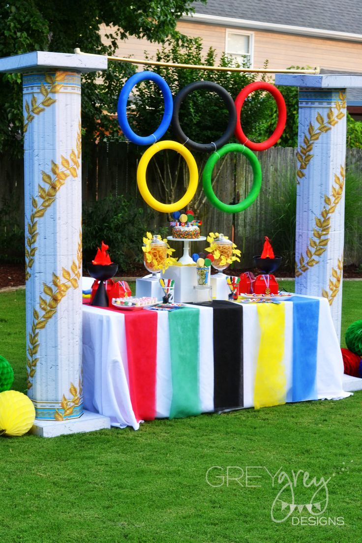 GreyGrey Designs: {My Parties} Olympics Party