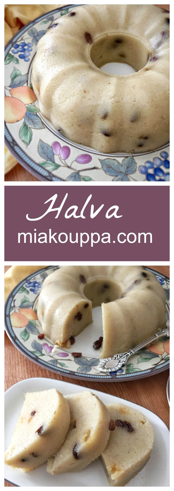 Greek Halva (Χαλβάς) is a great dessert, which is also Vegan, to pull together when you have unexpected company, or a sudden onset of sweet tooth-itis