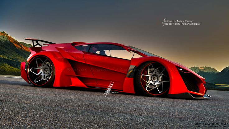 Elegant Lamborghini Sinistro Concept Design By Maher Thebian. | THEBIAN CONCEPTS |  Pinterest | Lamborghini, Dream Cars And Cars Design Ideas