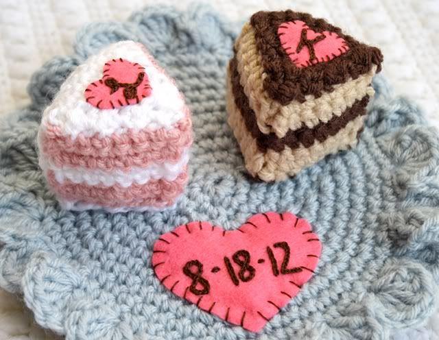 Crochet Wedding Gift 026 - Crochet Wedding Gift