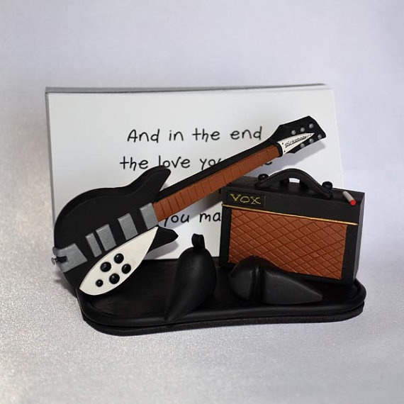 Beatles Polymer Clay / Thought for the Day by KerrysArtGarden