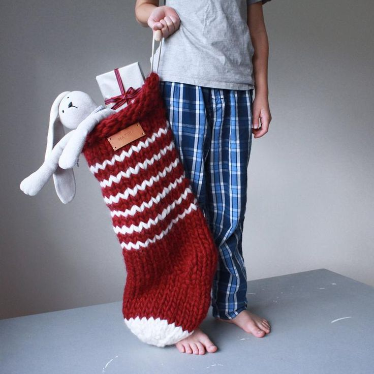 Jumbo Knitted Stoking Pattern - Mega Chunky Oversized Knit ...