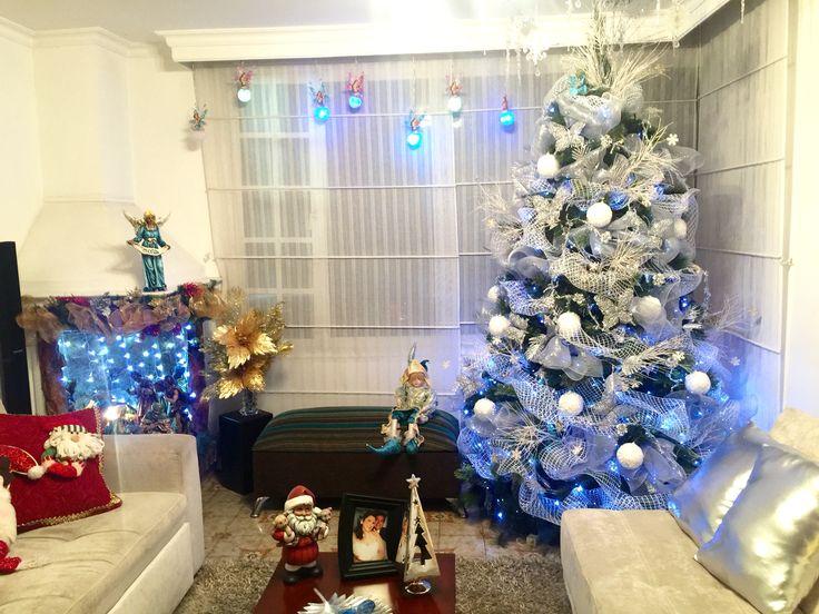 Sala decoración navideña Yasmín