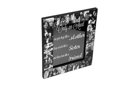 Best Aunt Frame Sister Friend Mother Best by InitialRemembrance