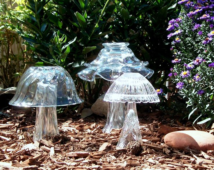 And here we are again.......I made them and love them! :) (Another cute idea to add to a fairy garden)..would be even more awesome if they were painted with glow in the dark paint!!