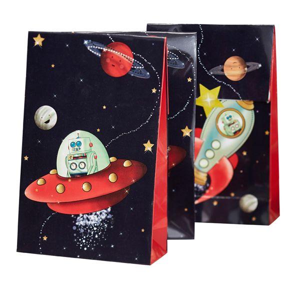 Space Adventure - Astronauten Party Tüten bei www.party-princess.de