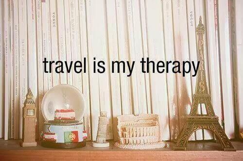 Travel is my therapy #aforismi #travel #viaggio