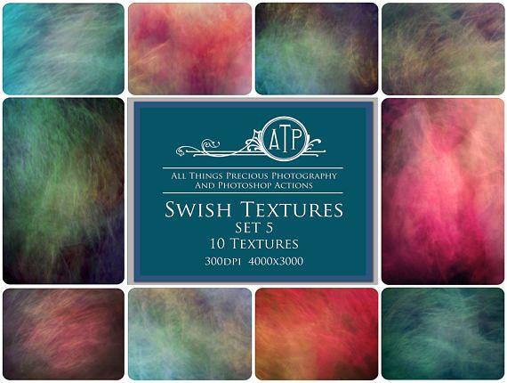 Fine Art Digital SWISH Textures  SET 5