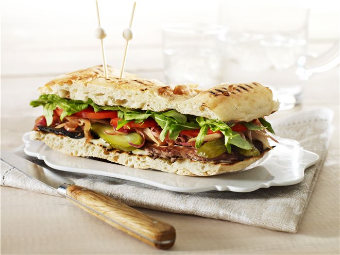 Forget the pub grub, this steak sanga's bound to be a favourite!