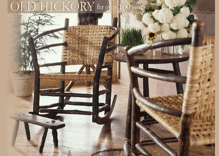 Old Hickory Furniture | Rustic Furniture | Hickory Furniture | Log Cabin  Furniture | Handcrafted Log