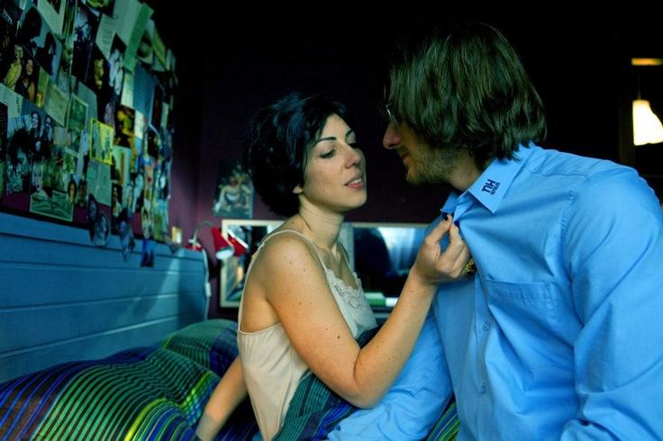 Una tenera scena tra Antonia e Guido