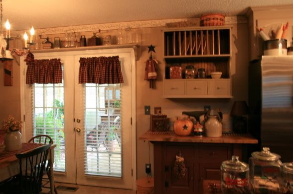 primitive kitchen designs ideas accents here and there
