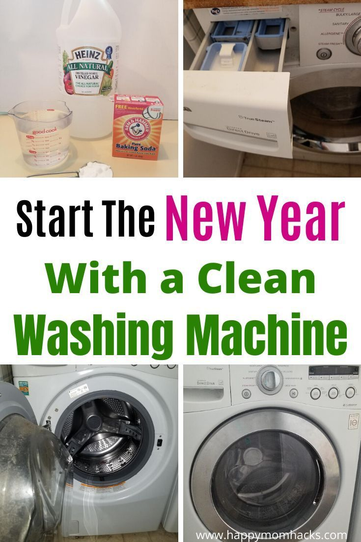 How To Clean A Front Loading Washing Machine With Bleach In 2020