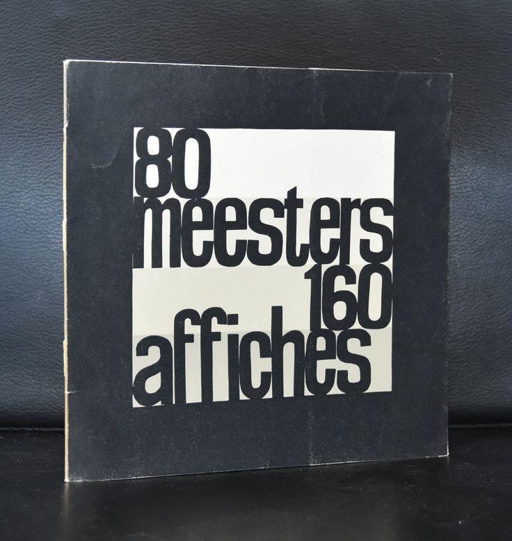 academie 's Hertogenbosch, Wim Strijbosch # 80 MEESTERS 160 AFFICHES # 1960, nm