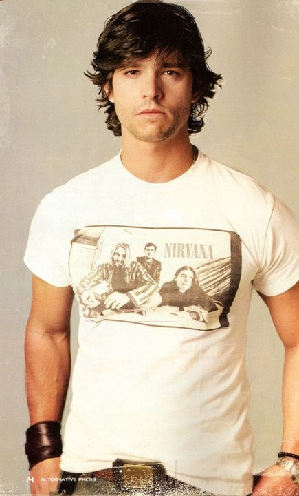 Jason  Behr <3 (from the television series Roswell)