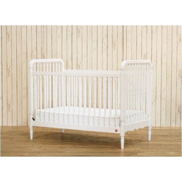 Franklin and Ben liberty crib - love this modernized version of the Jenny Lind