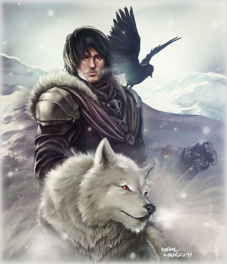 Lord Snow by *Dr-Salvador on deviantART