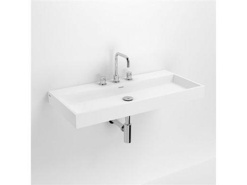 Lavabo 90 cm WashMe Céramique blanc