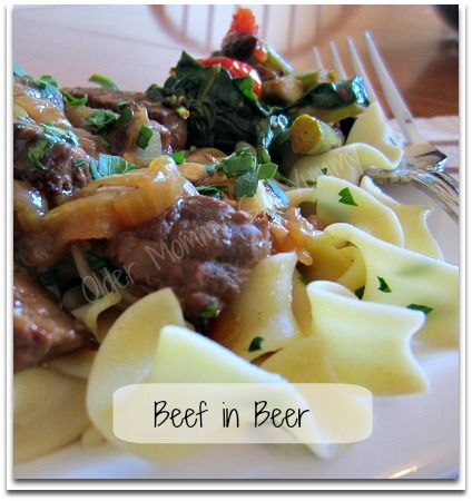Beef in Beer ~ Delicious! {with Recipe Link}