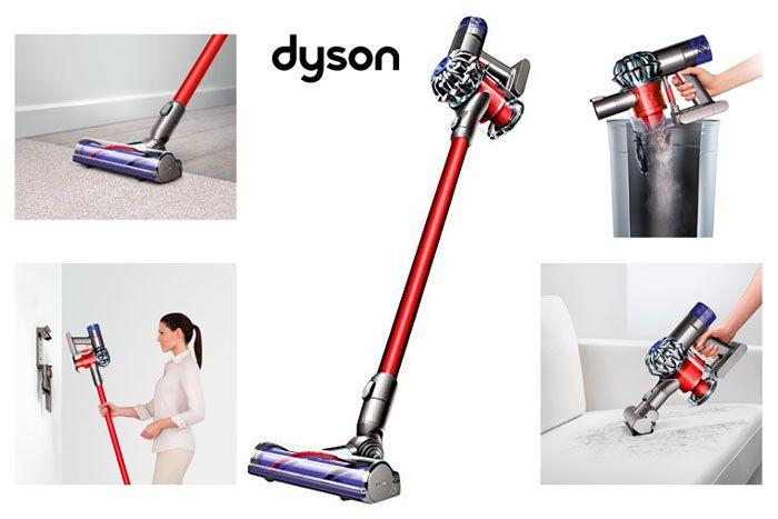 Dyson v6 total clean как мыть двигатель для пылесоса dyson dc23