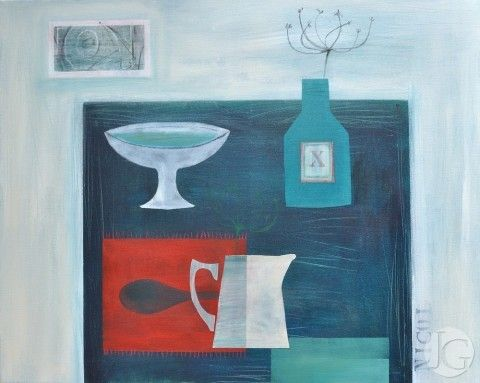 Claire Nicol exhibiting at The Jerram Gallery, Sherborne, Dorset.  Contemporary British pictures and sculpture
