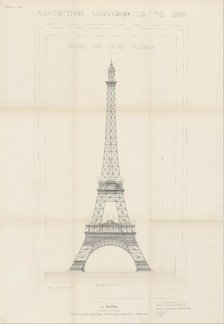 94 best architectural sketches images on pinterest for Eiffel architect