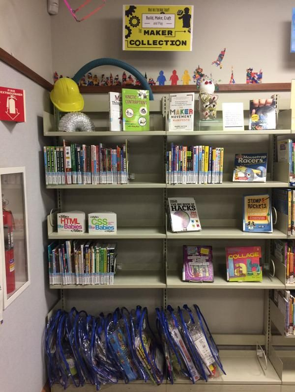 Circulating Maker Kits at The Public Library of Mount Vernon and Knox County (OH).